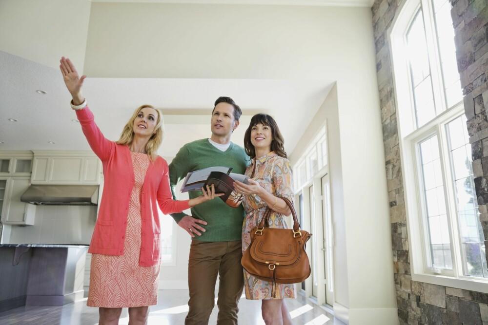 VISNING: Klargjør boligen og eiendommen for visning.