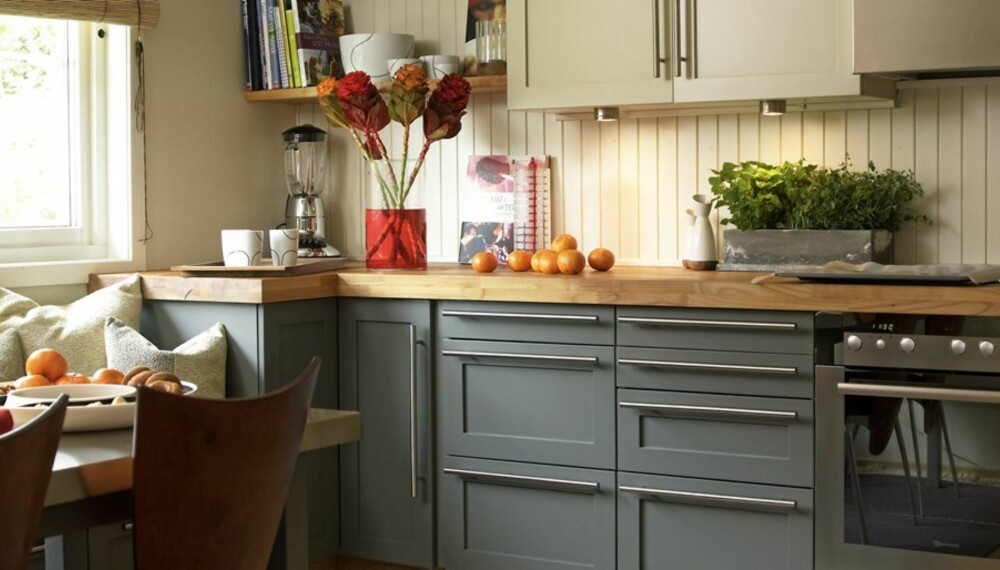 RESULTATET: Med enkle grep fikk kjøkkenet en helt ny look.