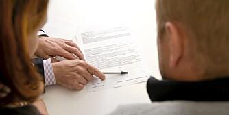 MANGE TYPER LÅN: Les kontrakten for boliglånet nøye så du er sikker på at du forstår hva slags lån du har.