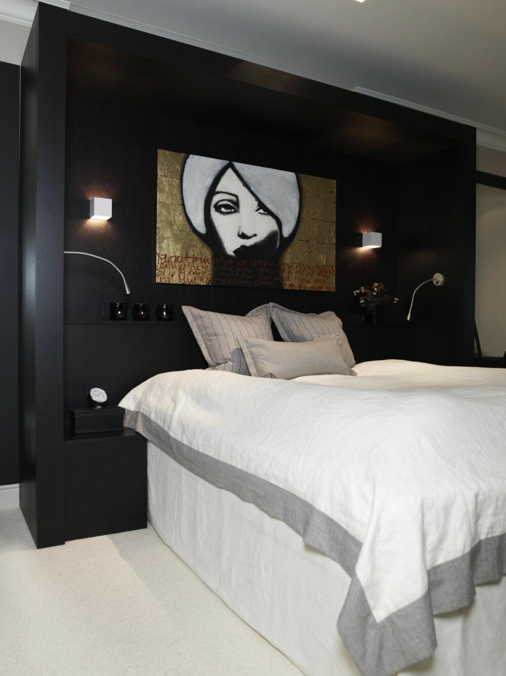 KUNST: Et bilde eller maleri gjør seg godt som dekorasjon på soveromsveggen
