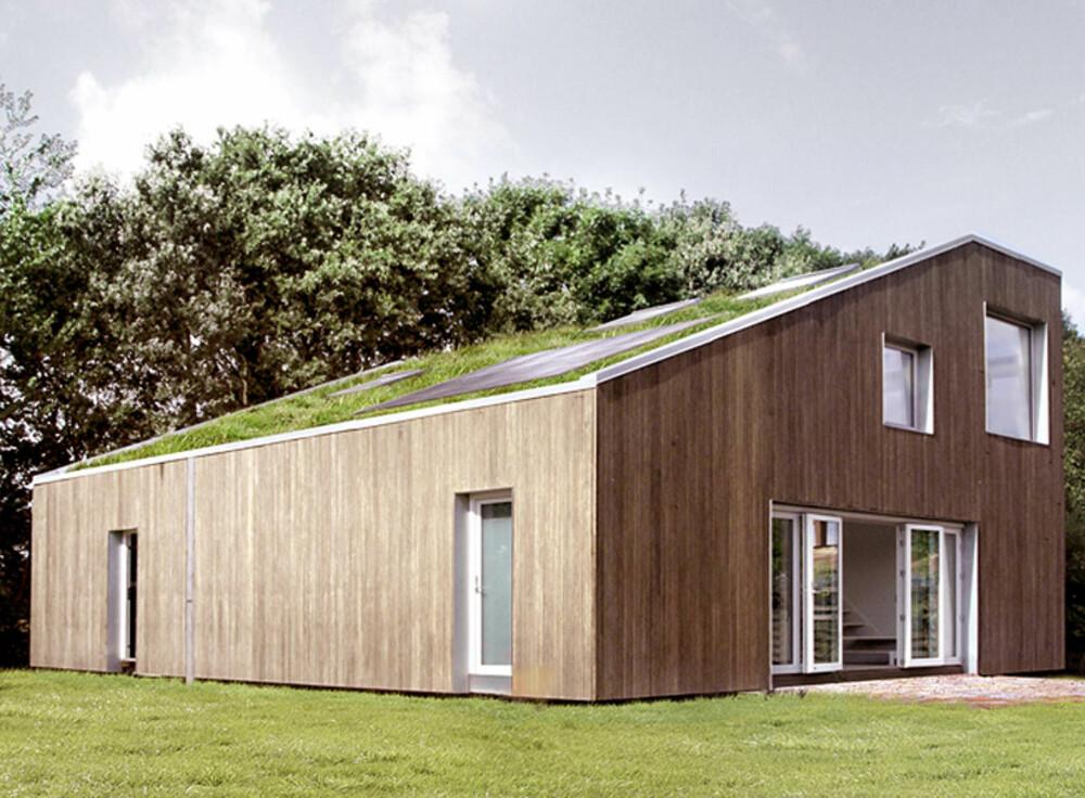 RESIRKULERBART HUS: Dette huset er ikke bygget som andre hus.
