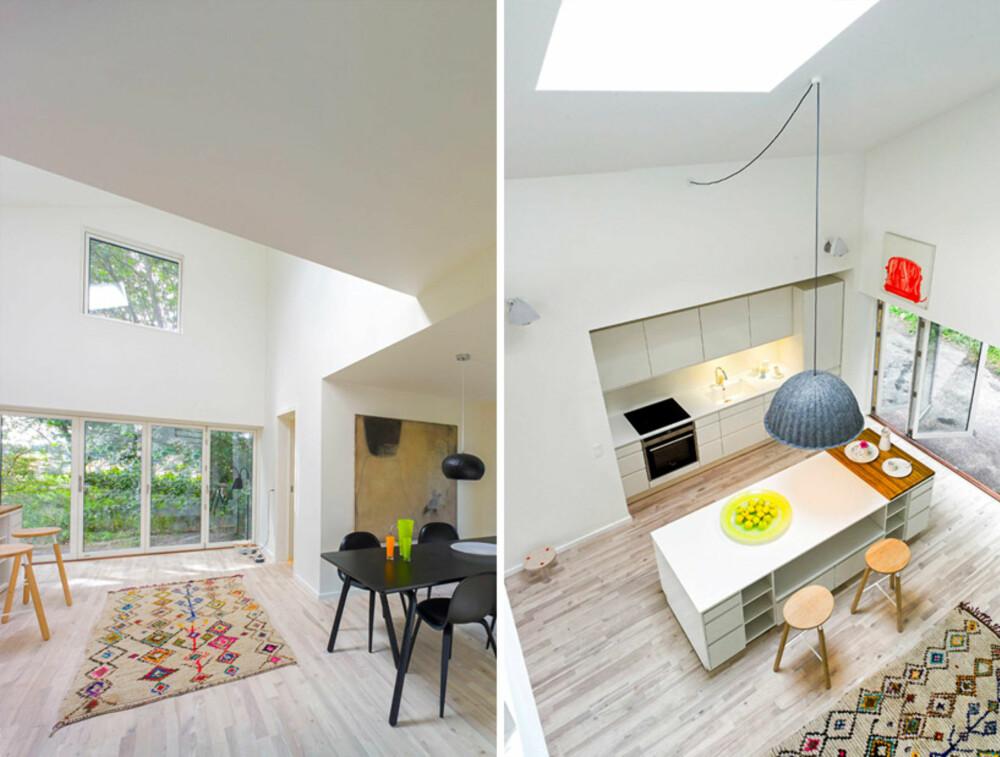 MODULBASERT: Husene skal kunne settes sammen og formes i tråd med klientens ønsker ifølge arkitektene.