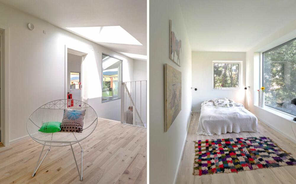 AKTIVHUS: Dette huset er designet for å lage mer energi enn det bruker.