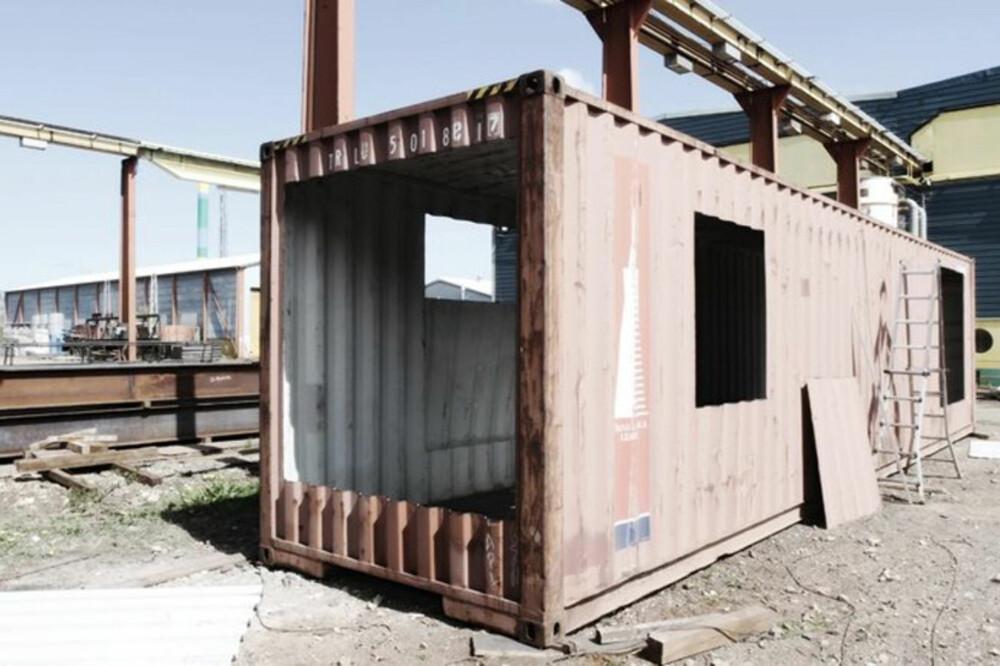 GJENBRUK: Det er i tiden og tenke resirkulering og gjenbruk. Det gjorde arkitektene fra Arcgency også.
