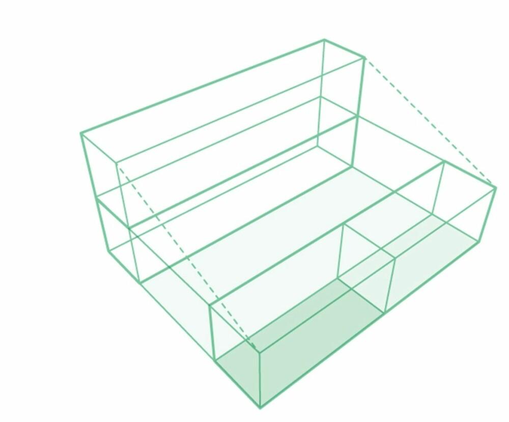 BYGGEKLOSS: Slik satte de sammen containerne for å lage de om til bolighus.