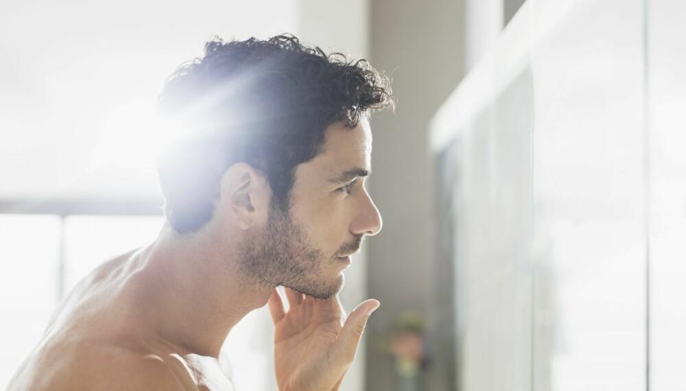 DETTE VIL MENN HA PÅ BADET: Regndusj, boblebadekar og god plass til barbermaskinen sin. Og hva tror det siste er?