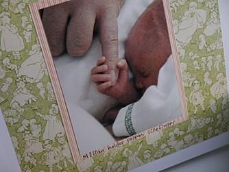 LITEN, MEN STERK: Lav fødselsvekt diskvalifiserer mange norske barn fra en fullverdig barneforsikring.