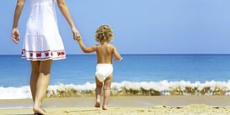 BABY: Her er gode tips til ferie med baby i Syden.