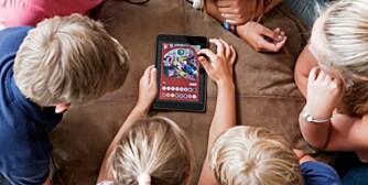 INSTAGRAM FOR BARN: Den nye, norskutviklede appen Kuddle lar barn dele bilder med vennene sine i et trygt univers tilrettelagt spesielt for barn.