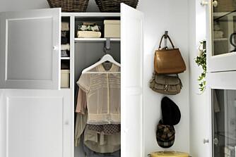 RYDDIG HJEM: Skap, hyller og kommoder er nødvendig for å få et ryddig hjem.