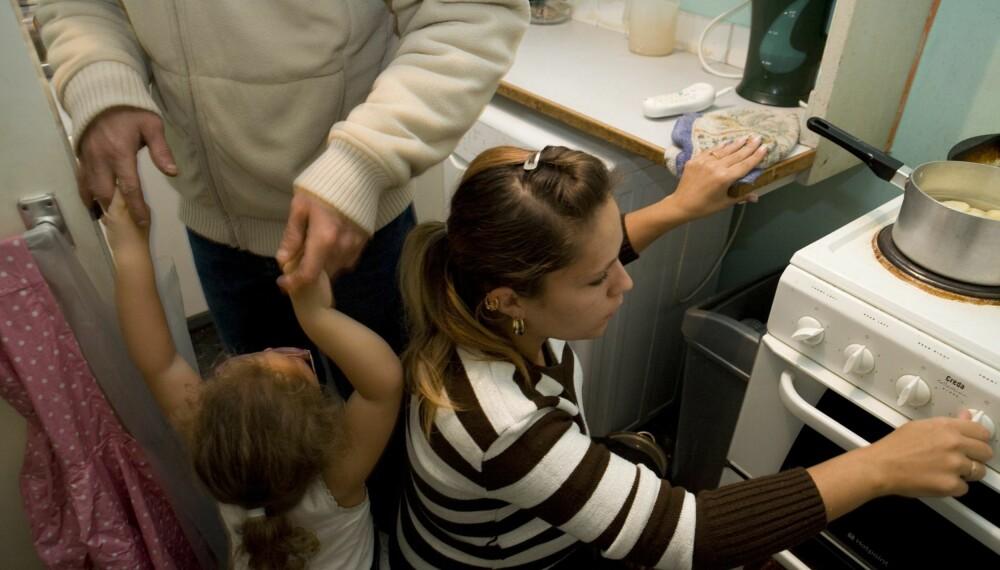 BO TRANGT: Det å bo trangt kan få konsekvenser for deg og familien.
