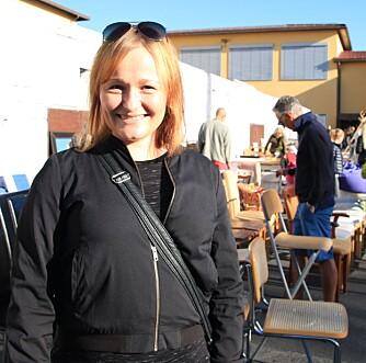 KREATIV: Ann Merete Slåttland deler sine beste bruktfunntips.
