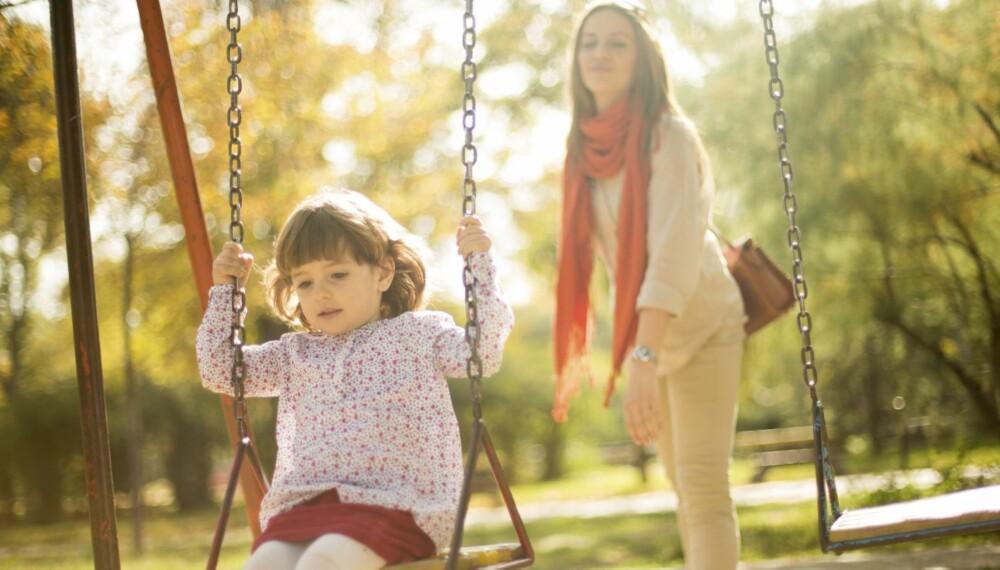 ENEBARN: Mange har bare ett barn, men opplever at andre er svært nysgjerrige på årsaken bak.