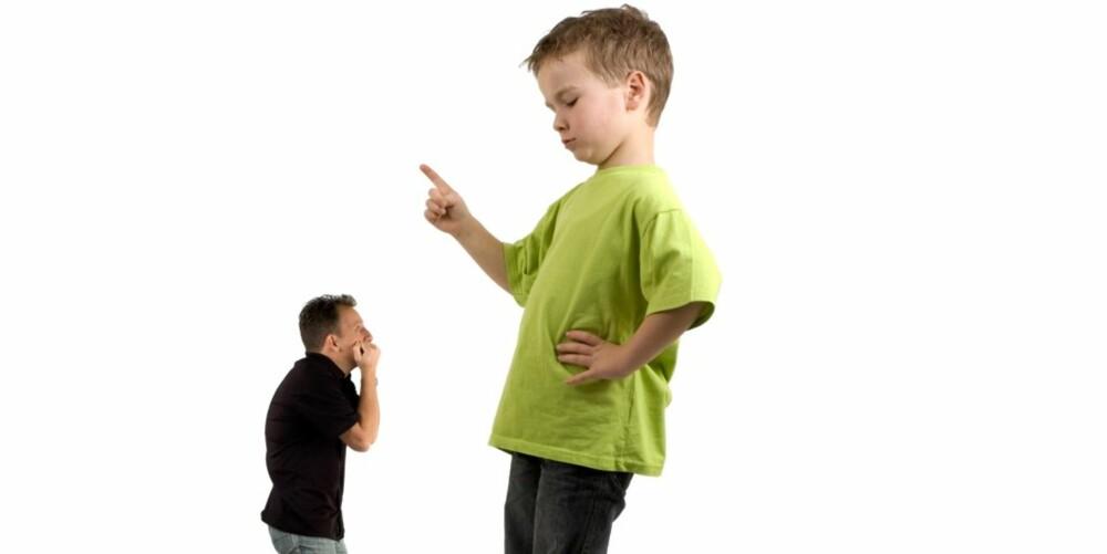 KJEFT:Gjør vondt for barn. mener Erik Sigsgaard