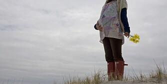 FORLATT: «Emilie» ble forlatt av barnefaren da hun var åtte måneder på vei.