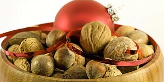 JULENØTTER: Sunt julesnacks som du kan spise året rundt.