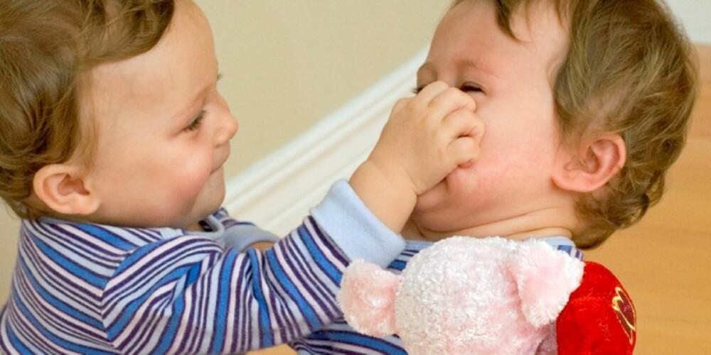 MIN BAMSE! De minste barna krangler ofte om gjenstander: – Den er min! Nei, jeg hadde den først.