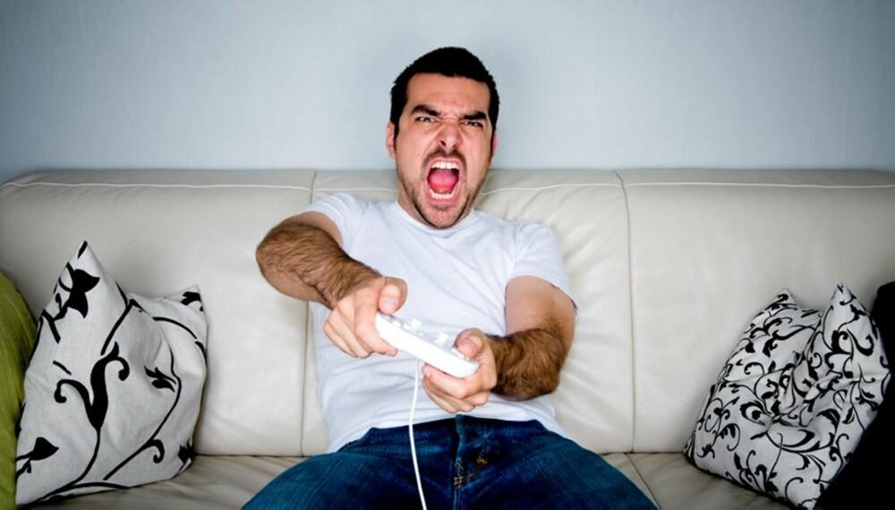TV-SPILL: Foreldre blir kanskje overrasket over hvor gøy det kan være.
