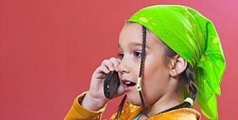 En kul mobiltelefon er viktig for dagens barn.