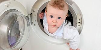 VASK SJELDNERE: Lette sagt enn gjort for småbarnsfamilier