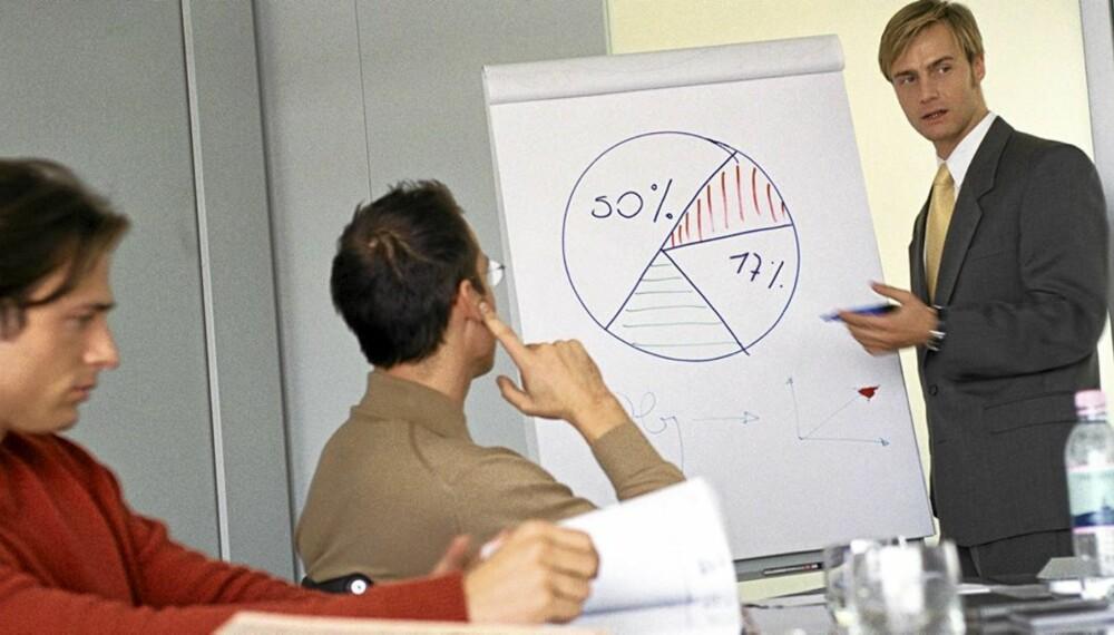 ENKEL OPPSKRIFT: Mestrer menn pliktene på jobben, er helsa også bra.