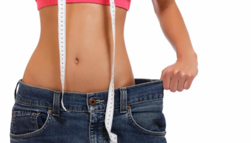 MÅ HA FETT: Eggløsning og menstruasjon streiker når du blir for mager.