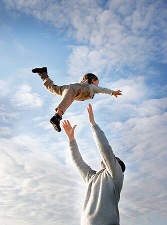 ET LYKKELIG LIV: Det er ingenting som tilsier at et barn ikke er lykkelig som enebarn.