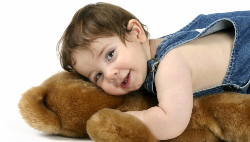 OPPKALT ETTER BAMSEN: Det er fortsatt en del barn som heter det samme som favorittkosedyret sitt, Bjørn.