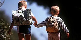 HØYERE OG TYNGRE: Norske barn er både høyere og tyngre nå enn på 70-tallet.