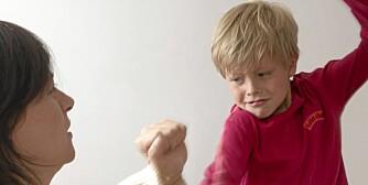 SINT NÅR DET TRENGS: - Hvis du blir sint, må du gi klart uttrykk for at sinnet gjelder barnets handlinger og ikke barnet selv, sier pedagogikkprofessor Stein-Erik Ulvund.