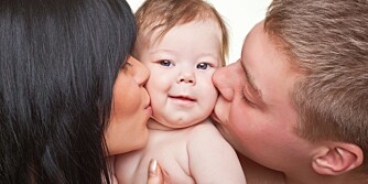 BILLIG BABY: Barnets første leveår er faktisk de billigste. Prisen stiger betraktelig idet barnet begynner på skolen.