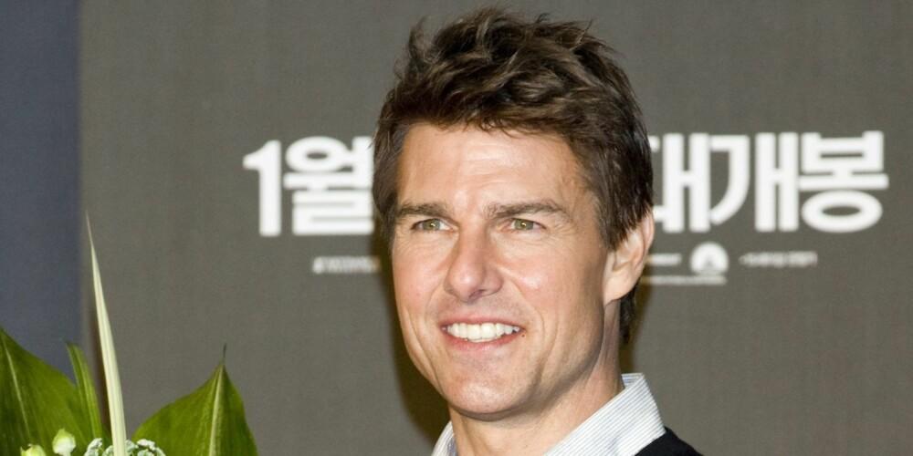 KORT OG GREIT: Tom Cruise er kort og velklingende, men stjernes fødenavnThomas Mapother IV er litt mer kronglete å si.