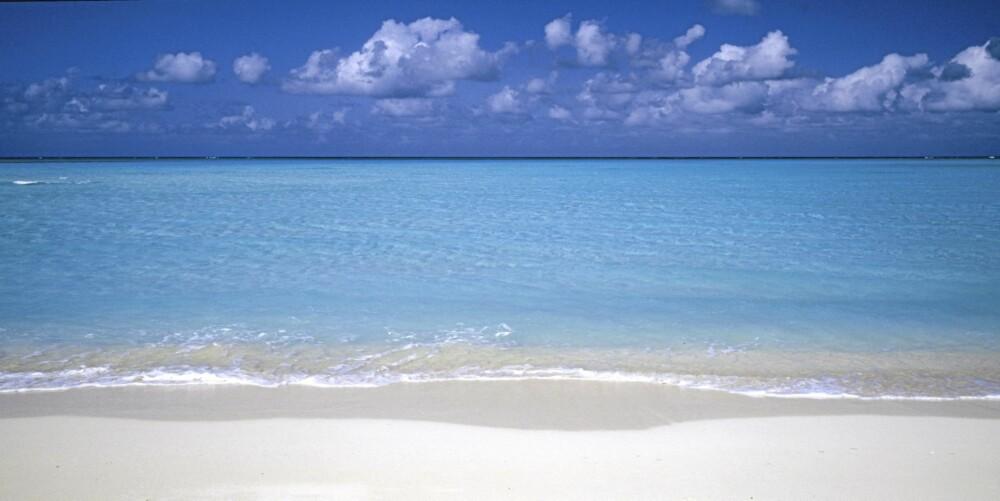 BEST PÅ STRANDFERIE: Providenciales er det beste stedet i verden for en strandferie, skal vi tro reisende som bruker Tripadvisor.com.