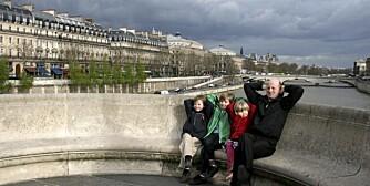 """PARIS HAR ALT: - Det beste med Paris er """"alt"""", sier Fredrik på åtte år. Legger du tilrette for å gjøre barnevennlige ting, kan Paris fort bli barnas favorittby."""