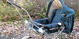 BRUKT BARNEVOGN: Det er mye å spare på å kjøpe barnevogn brukt.