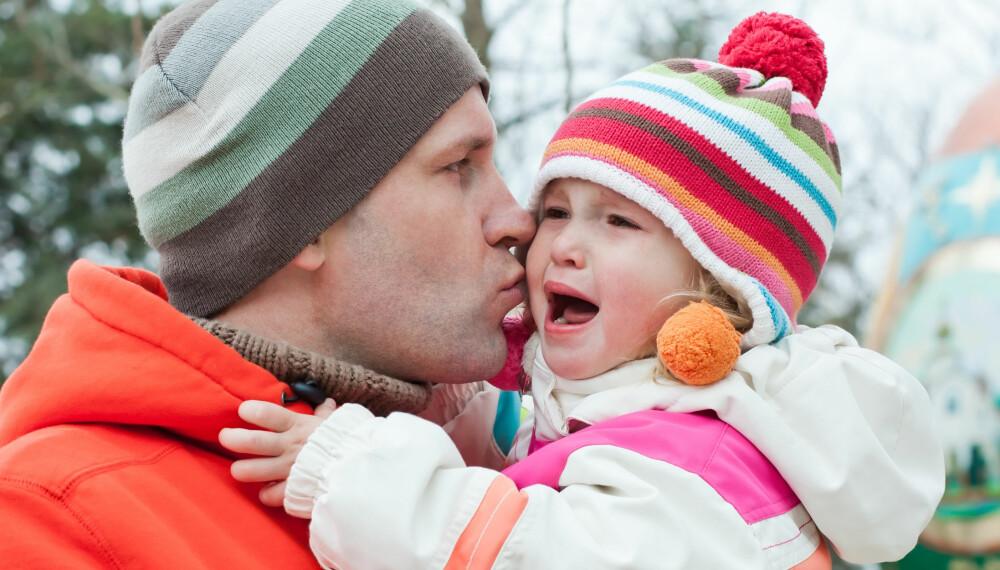 LÆRDOM BARNET DITT HAR GODT AV: Å oppleve vanskelige og vonde ting kan faktisk være bra for barnet ditt. Det viktige er at du er til stede og kan trøste og støtte.