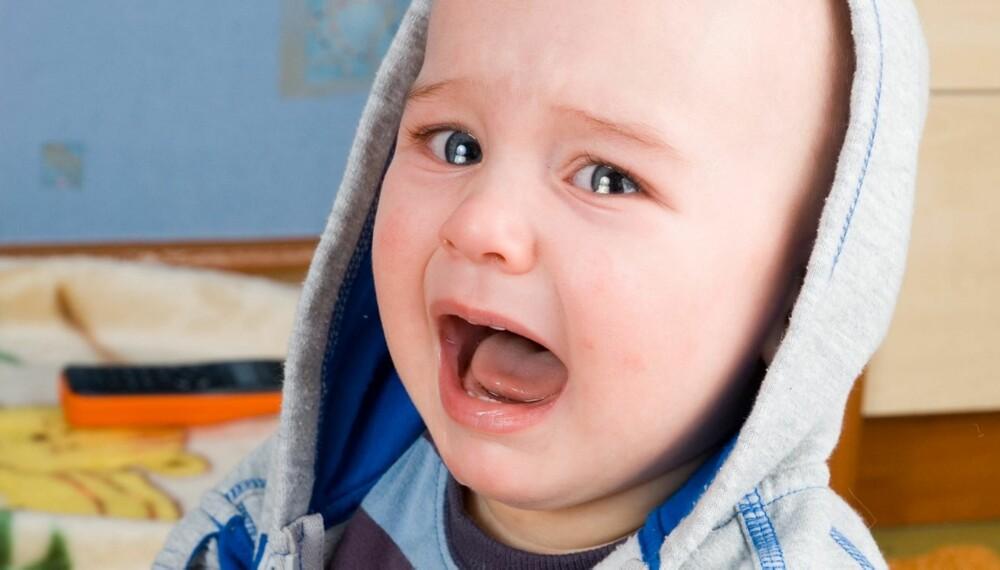 db35e9b8 SLITSOMT: Sutrete barn er slitsomt for hele familien. Her får du gode råd av