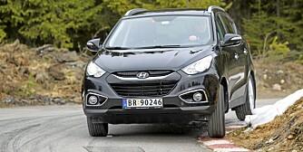 HYUNDAIS FOLKE-SUV: ix35 er Hyundais siste forsæk på å ta markedsandeler i folke-SUV-segmentet.