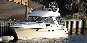VIKSUND 340: Denne rommer en familie på fem, og koster 17.000 i uken fra Bergen Båtutleie.
