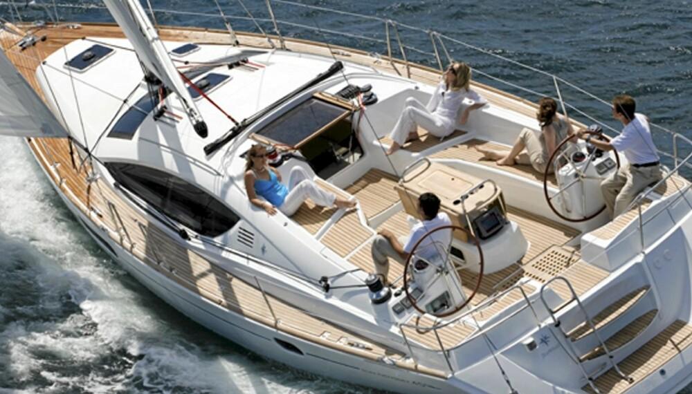 SAIL AWAY: Langs norskekysten finnes en rekke utleiere som tilbyr flotte båter til ferie med familie eller venner.