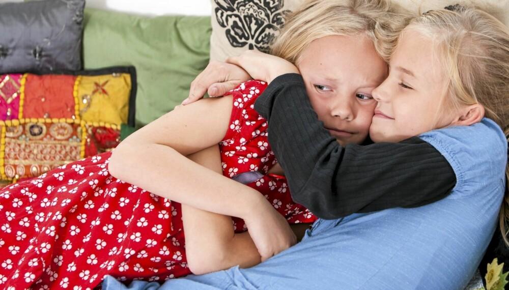 BARN OG SKILSMISSE: Sorg er en helt normal reaksjon hos barn når foreldrene skiller seg.