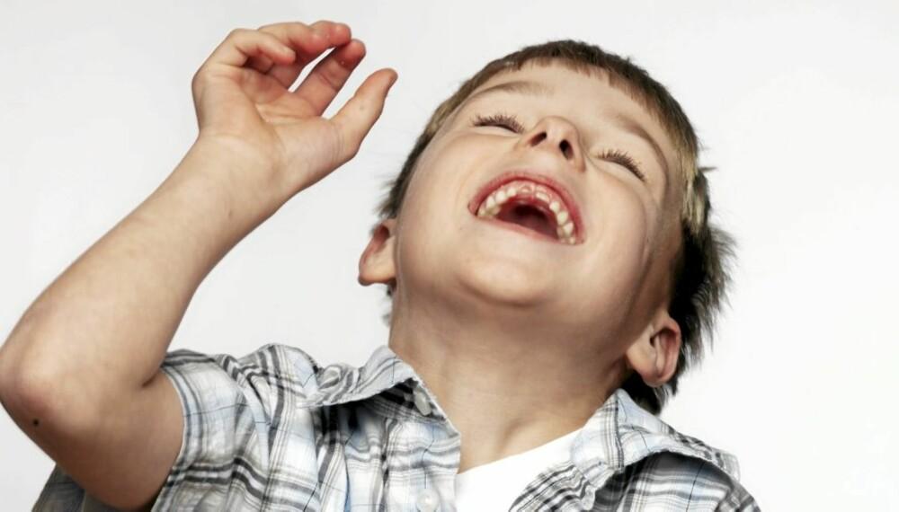 GOD SELVTILLIT: Hjelp barnet ditt med selvtilliten. Det har han eller hun glede av resten av livet.