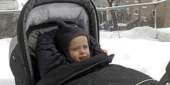 FOR KALDT: Når er det for kaldt for barn å sover ute i barnehagen?