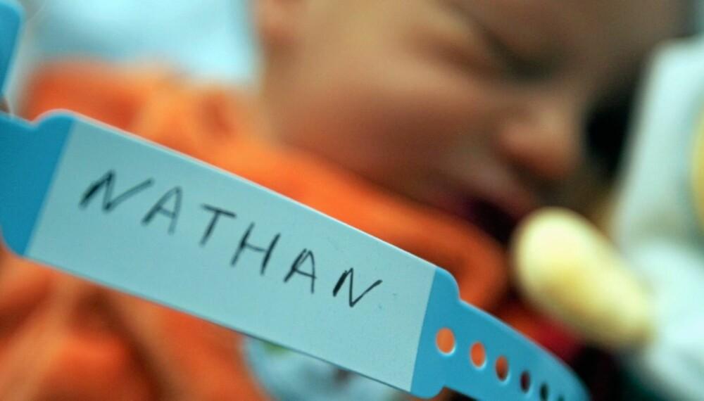 VANSKELIG NAVNEVALG: Dersom du ikke sender inn skjema for navnevalg innen seks måneder etter at barnet er født kan konsekvensene være at du blir politianmeldt og får bot.