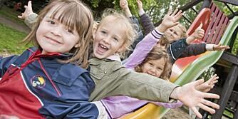 GLADE BARN: Økt konkurranse kan gjøre at barna får bedre kvalitet på barnehagetilbudet.