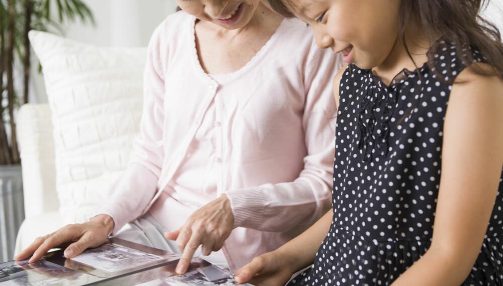 HVORDAN LAGE BABYALBUM: Lag babyalbum og bevar minnene!  Notér ned historier og morsomme ting som du kan skrive til bildene.