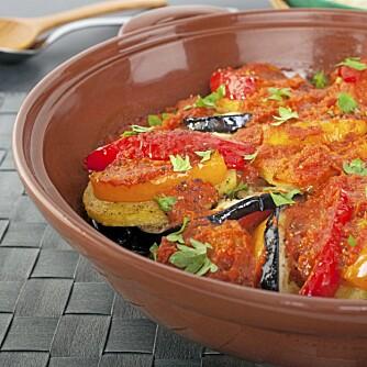 SPANSK GRYTE: Maten på all inclusive-hotellet gikk utenpå mye av det som serveres på Alcudias frittstående restauranter.