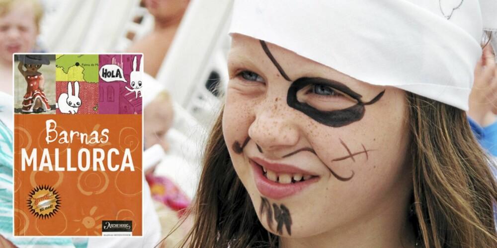 """REISELEKTYRE: Boka """"Barnas Mallorca"""" er full av nyttige tips for barnefamilier på vei til middelhavsøya."""