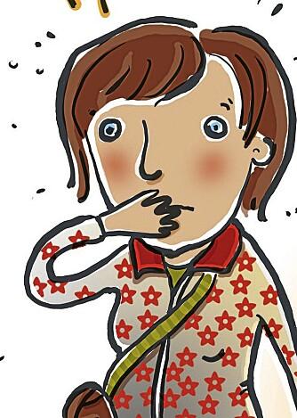 LATER SOM: Det hjelper lite å si til barn at noe er ufarlig hvis kroppsspråket ditt signaliserer noe annet.