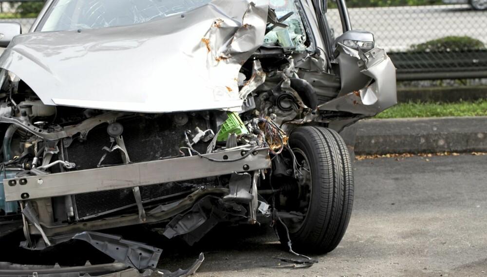 MEST REDD FOR: Trafikkulykker er det vi foreldre frykter mest at våre barn skal havne i.